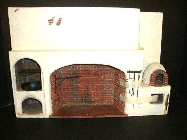 "David Usher Fireplace - "" Littlestuff"""
