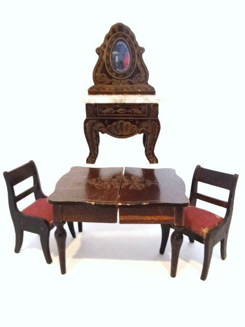 Antique Boulle Furniture Group