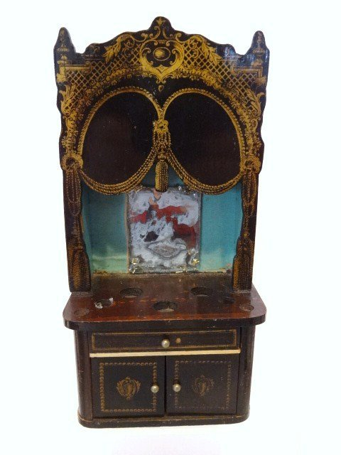 Antique Boulle Dressing Table
