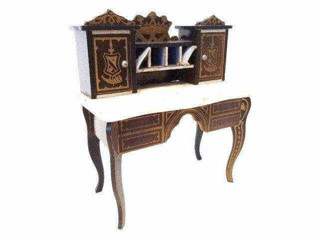 Antique Boulle Writing Desk