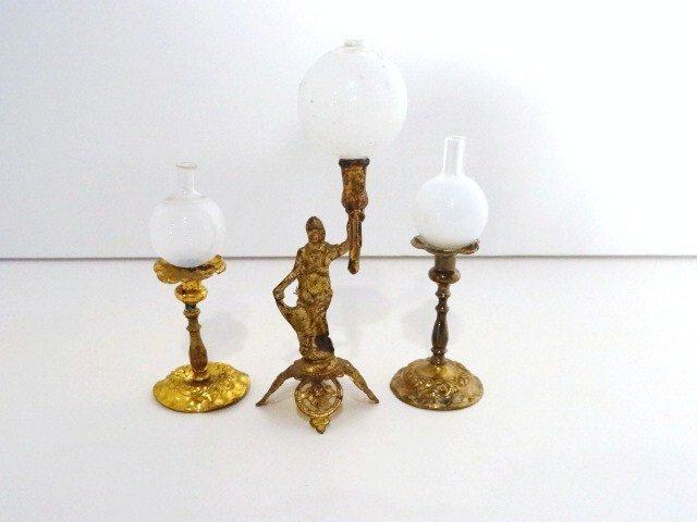 Antique Ormolu Lamps