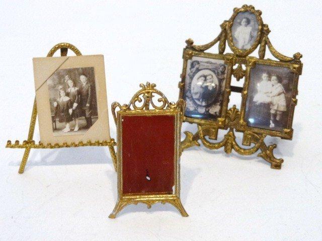 Antique Ormolu Picture Easel