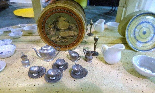 Antique Miniature China in Original Box