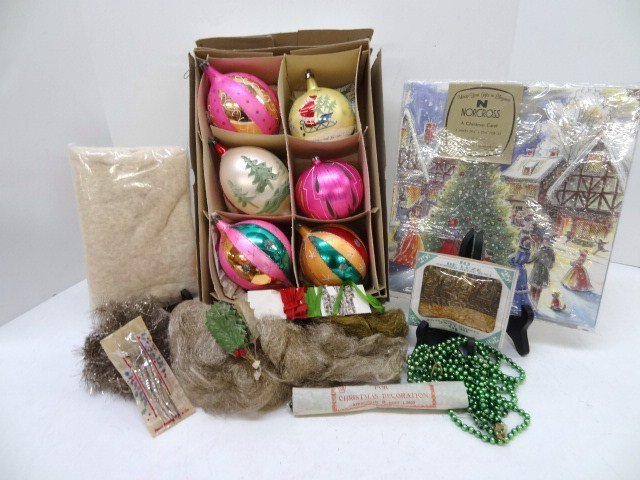 Grouping Vintage Christmas Accessories