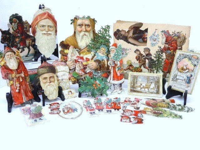 Vintage Christmas Die-Cuts