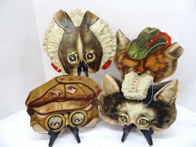 Victorian Animal Die-Cut Masks