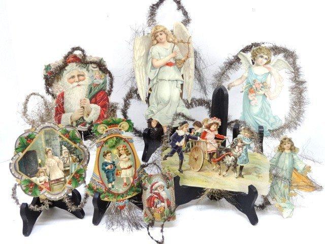 Victorian Tinsel Die-Cut Ornaments