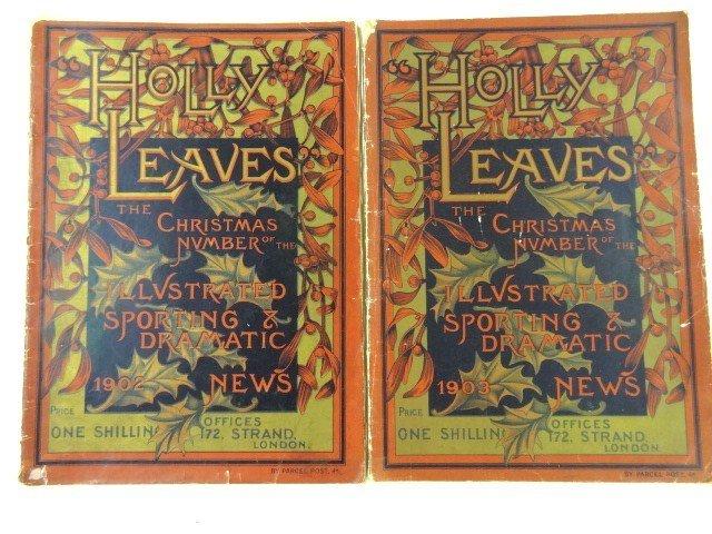 Holly Leaves English Magazine