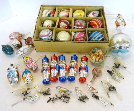 Figural Christmas Ornaments