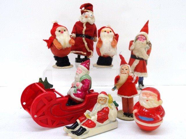 Vintage Santa Figures