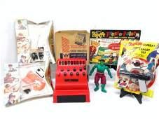 Popeye, Hulk and Miscellaneous Toys, Etc.