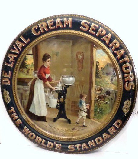 The DeLaval Separator Co. Tin Sign