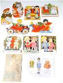Christmas Greeting Cards Paper Dolls