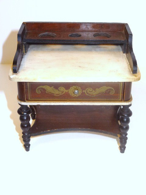 Antique Boulle Washstand