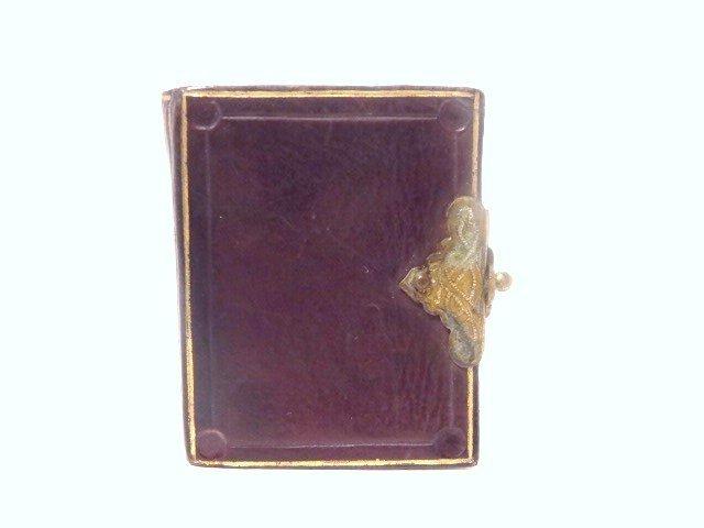 Antique Miniature Tintype Album