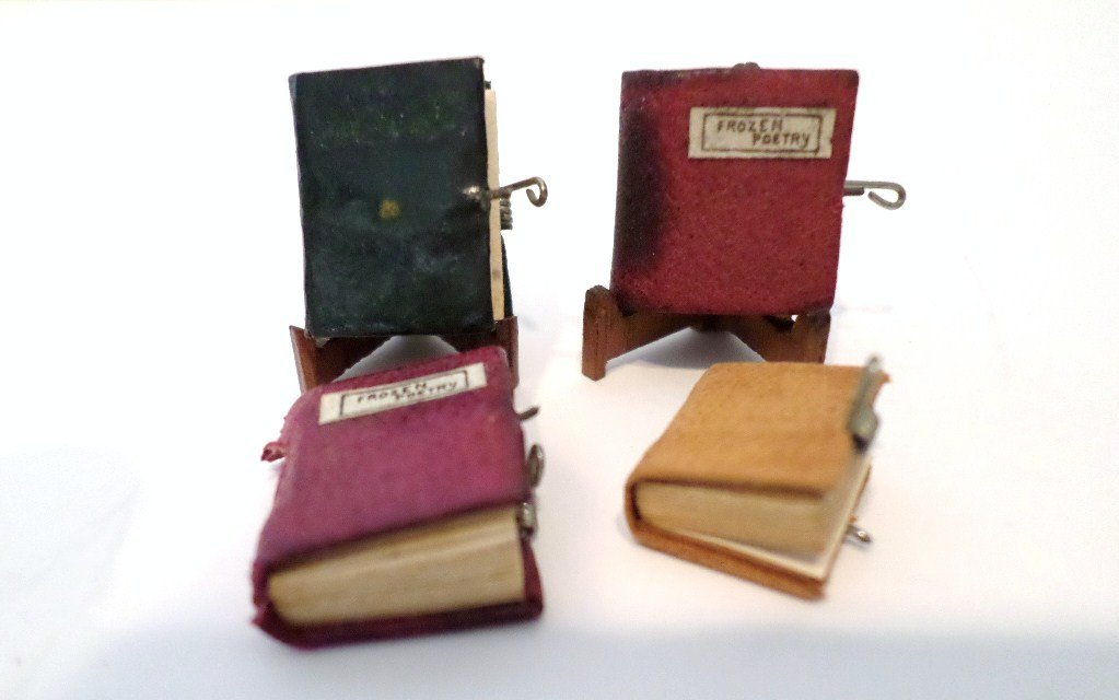 Rare Burt Randall Miniature Books