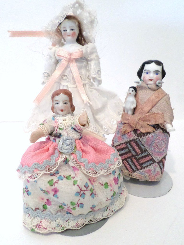 Antique and Vintage China Dolls