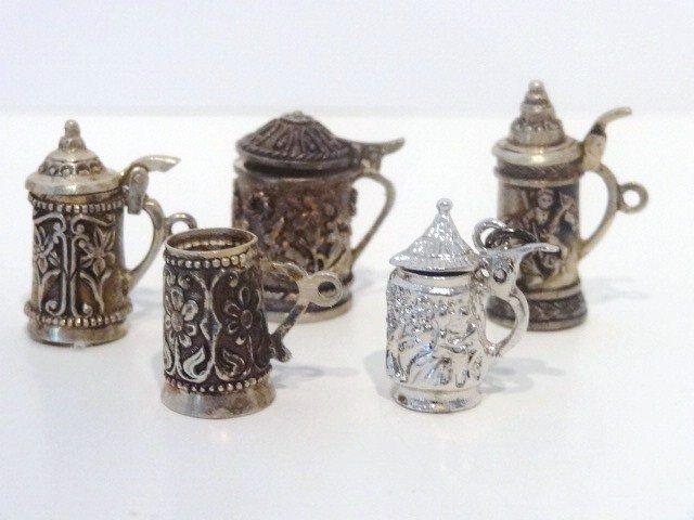 Miniature Silver Tankards