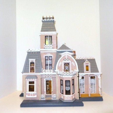 Half-scale Paul Cumbie Victorian Mansion