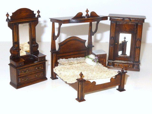 J. Gans Half-scale Bedroom Set
