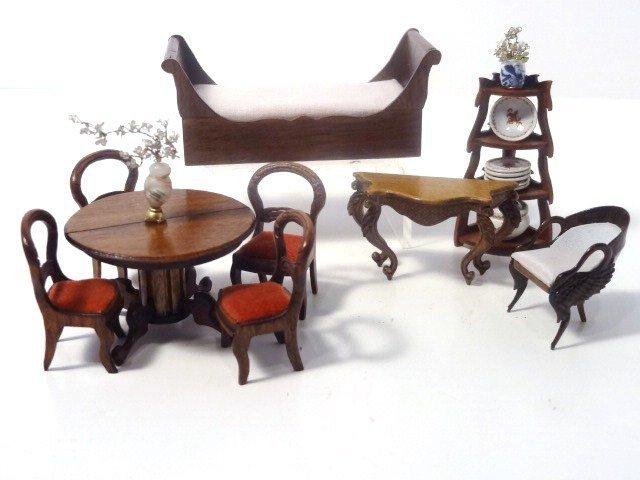Susanne Russo Half-scale Empire Furniture