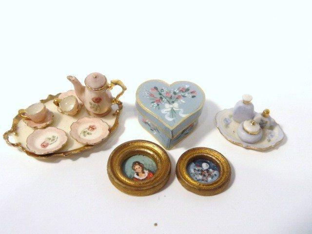 Karen Zorich Half-scale Tea Set