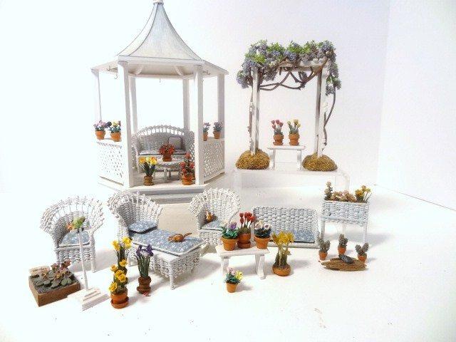 Half-scale Garden and Gazebo