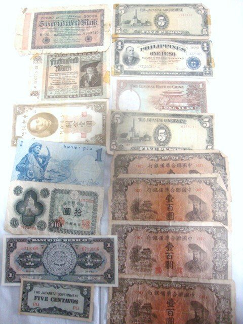 Group Foreign Bank Notes