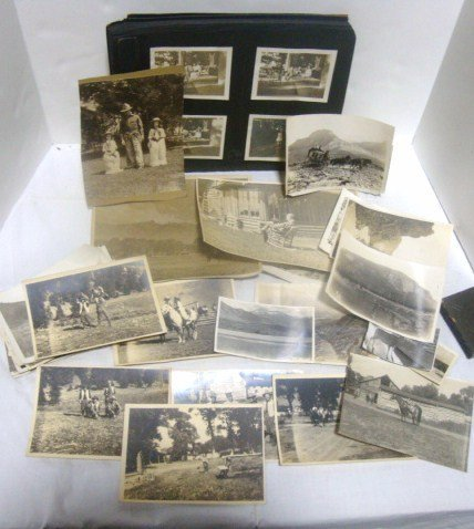 Circa 1900 Photo Album