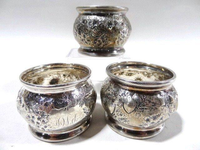Coin Silver Napkin Rings