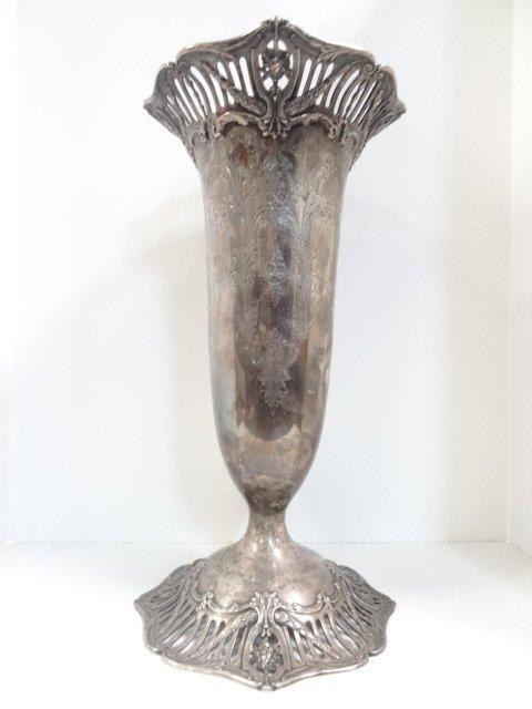 Massive Sterling Vase