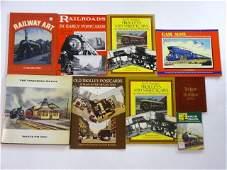 9 R.R. Art and Postcard Books