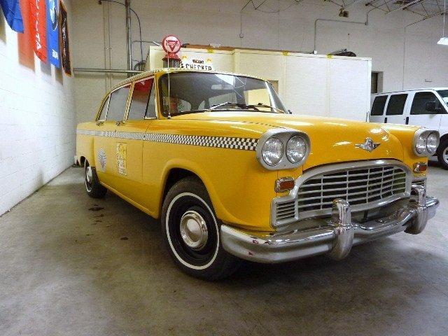 1969/1970 Checker Marathon Taxi Cab - 8