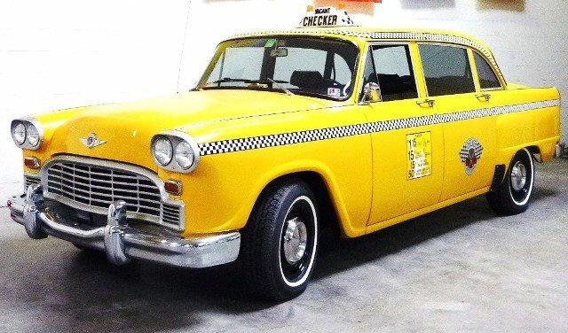 1969/1970 Checker Marathon Taxi Cab