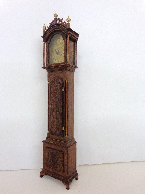 David Usher Tall Case Clock - 4