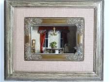Miniature Dining Room Roombox