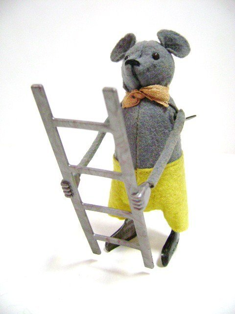 Schuco Mouse with Ladder and 1022 Mouse