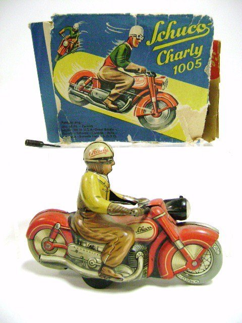 Schuco Charly 1005 Motorcycle OB