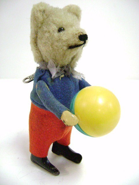 Schuco Wind-up Bear with Ball