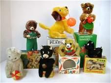 Seven Wind-Up Toy Animals