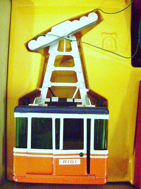 Vintage Lehmann Rigi Duo 9000 Cable Car Ski Lift Tram