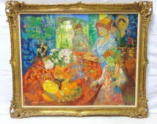 Emile Grau Sala Oil Painting