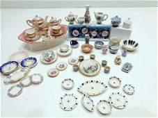 Dollhouse  Miniature Dishes Limoges Japan etc