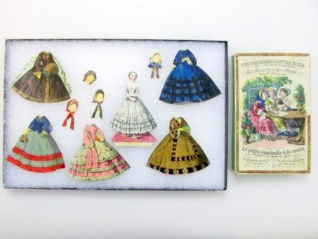 The Fashionable Little Girls 1860's Boxed Set