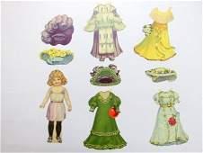 Raphael Tuck Dollys Dainty Dresses 4 Sets