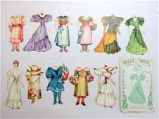 Two Raphael Tuck Sets plus Dye-Cut dolls