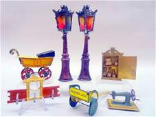 German Penny Toys, Lamps
