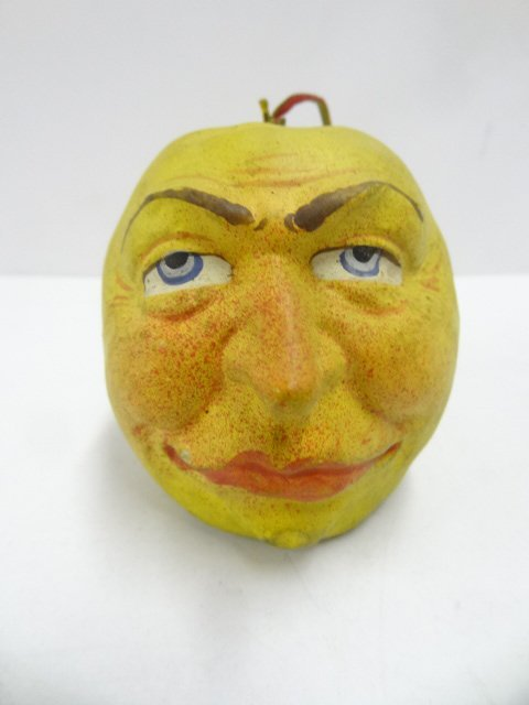 Apple Head Candy Container