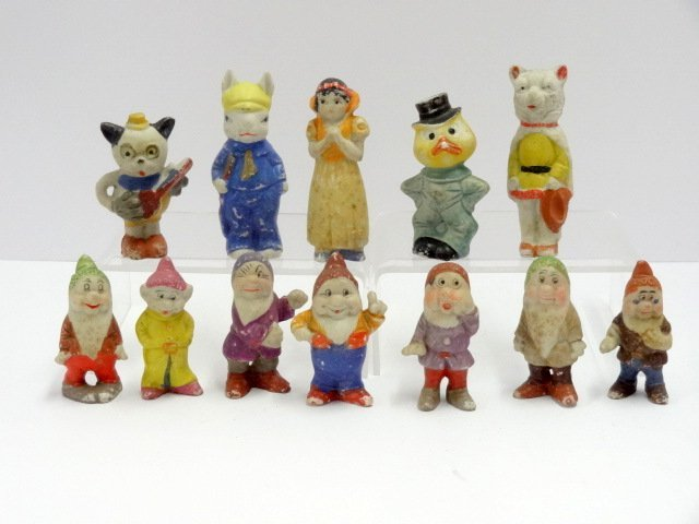 Vintage Bisque Snow White & Others