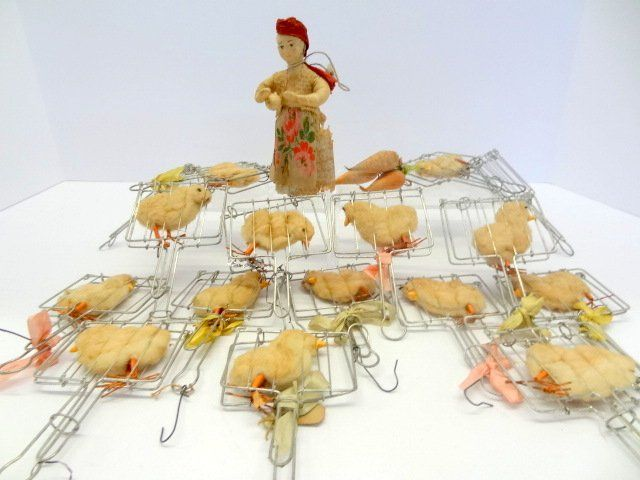 Early Spun Cotton Chicks & Others
